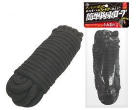 簡単拘束ロープ (黒)