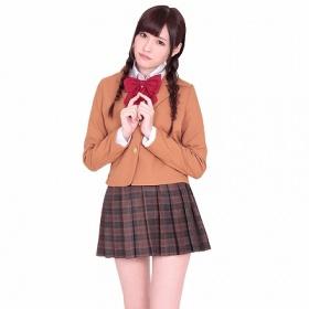 私立高等学園女子部ブレザー制服スカート
