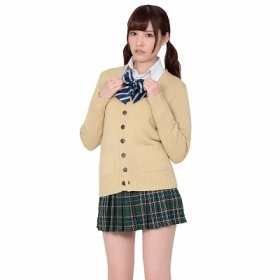 王道チョイアマ制服コーデ