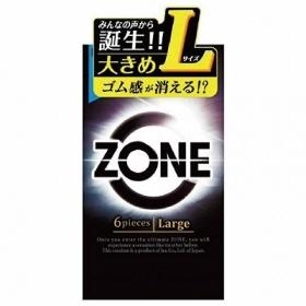 ZONE ゾーン コンドーム Lサイズ (6個入)