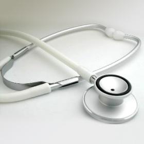 カラー聴診器 (ホワイト)
