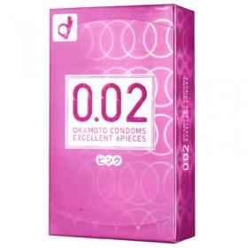 うすさ均一0.02EX ピンク 6P
