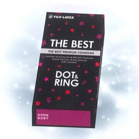 ザ・ベストコンドーム DOT&RING 画像