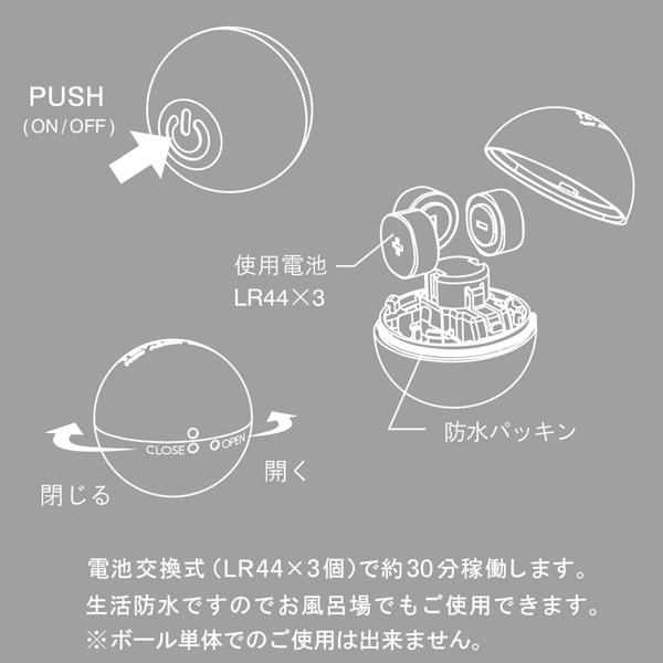 TENGA(テンガ)VI-BO ベースボールの使い方
